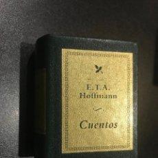 Libros de segunda mano: GRANDES OBRAS DE LA LITERATURA UNIVERSAL EN MINIATURA. E.T.A. HOFFMANN.. CUENTOS. Lote 112405155