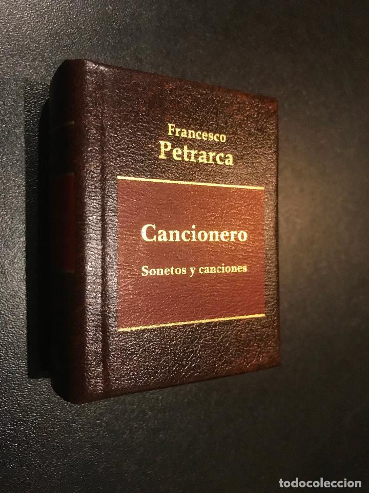 GRANDES OBRAS LITERATURA UNIVERSAL EN MINIATURA. FRANCESCO PETRARCA. CANCIONERO. SONETOS Y CANCIONES (Libros de Segunda Mano (posteriores a 1936) - Literatura - Narrativa - Clásicos)