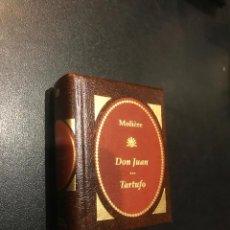 Libros de segunda mano: GRANDES OBRAS LITERATURA UNIVERSAL EN MINIATURA. MOLIÈRE. DON JUAN ... TARTUFO. Lote 112405411