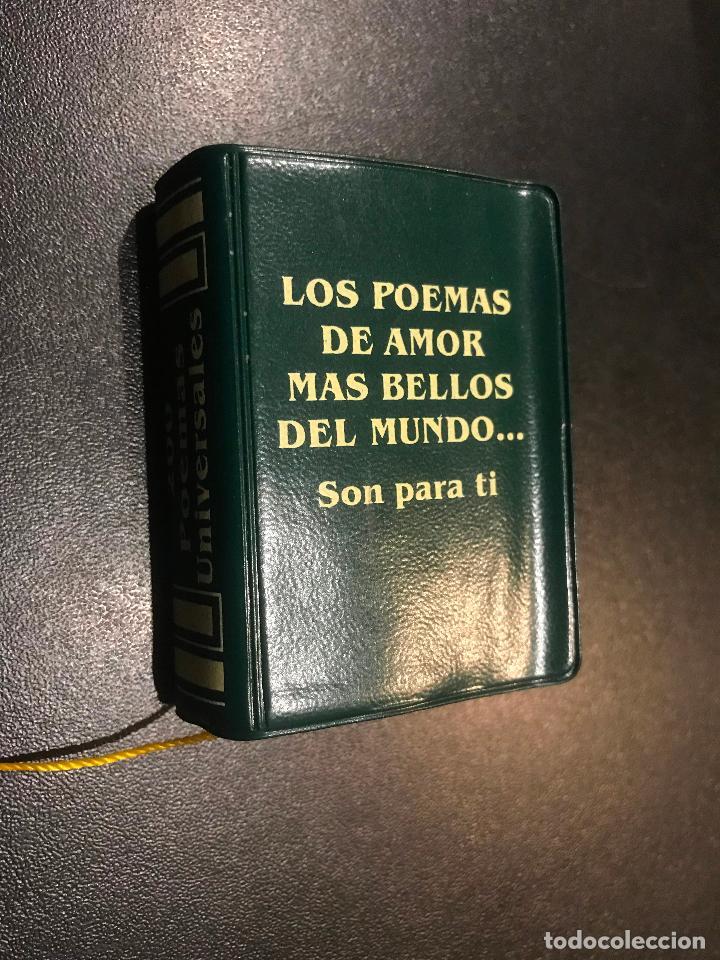 GRANDES OBRAS LITERATURA UNIVERSAL EN MINIATURA. LOS POEMAS DE AMOR MAS BELLOS DEL MUNDO SON PARA TI (Libros de Segunda Mano (posteriores a 1936) - Literatura - Narrativa - Clásicos)