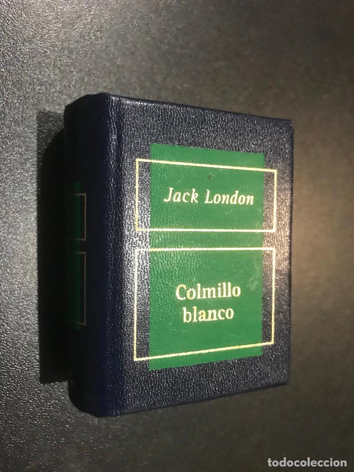 GRANDES OBRAS DE LA LITERATURA UNIVERSAL EN MINIATURA. JACK LONDON. COLMILLO BLANCO (Libros de Segunda Mano (posteriores a 1936) - Literatura - Narrativa - Clásicos)