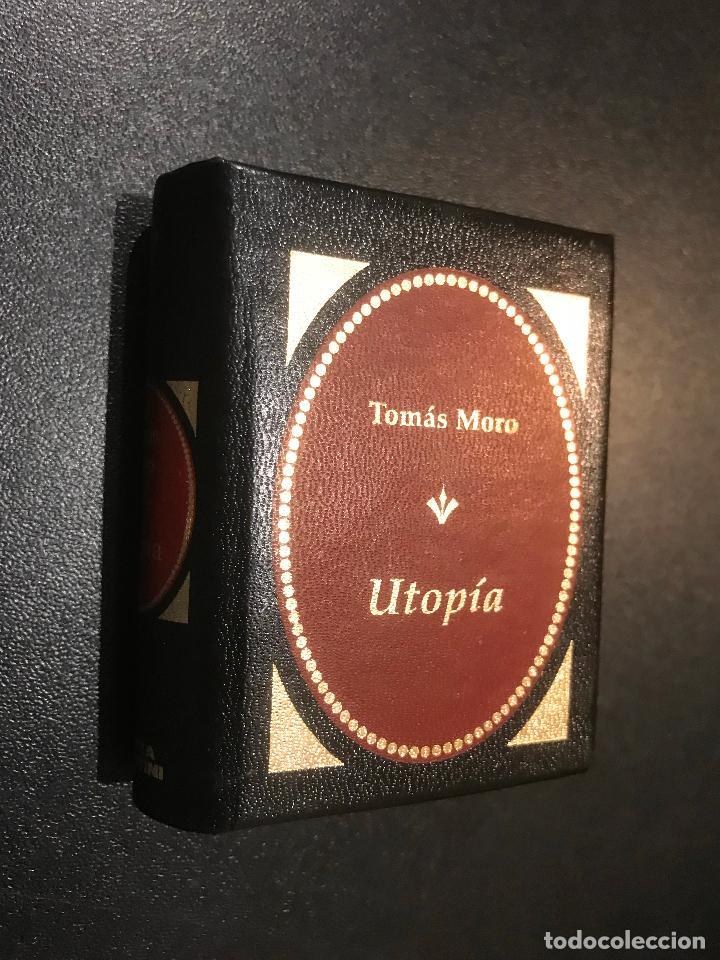 GRANDES OBRAS DE LA LITERATURA UNIVERSAL EN MINIATURA. TOMAS MORO. UTOPIA (Libros de Segunda Mano (posteriores a 1936) - Literatura - Narrativa - Clásicos)