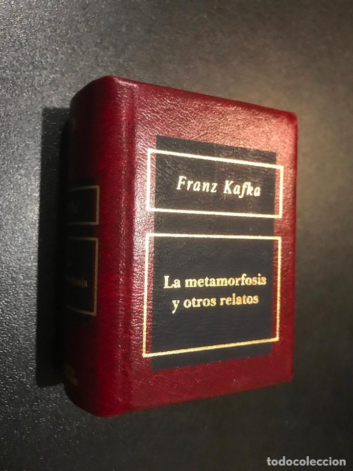 GRANDES OBRAS DE LA LITERATURA UNIVERSAL EN MINIATURA. FRANK KAFKA. LA METAMORFOSIS Y OTROS RELATOS (Libros de Segunda Mano (posteriores a 1936) - Literatura - Narrativa - Clásicos)