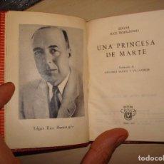 Libros de segunda mano: EDGAR RICE BURROUGHS. UNA PRINCESA DE MARTE. AGUILAR. CRISOL 207.. Lote 112544499