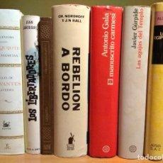 Libros de segunda mano: BUEN LOTE DE LIBROS. EDITORIAL MOLINO, PLANETA, SALVAT, ESPASA ETC.. CUATRO SON PRIMERA EDICIÓN.. Lote 112661359