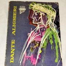 Libros de segunda mano: VIDA NUEVA; DANTE ALIGHIERI - PLAZA & JANES 1961. Lote 112698255