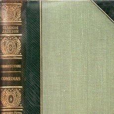 Libros de segunda mano: SHAKESPEARE : COMEDIAS (CLÁSICOS JACKSON, 1951). Lote 112760875