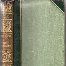 Libros de segunda mano: VIRGILIO - HORACIO : OBRAS POÉTICAS (CLÁSICOS JACKSON, 1951). Lote 112761671
