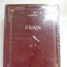 Libros de segunda mano: ILÍADA. HOMERO. GREDOS. (23,5 X 16,5 CM). Lote 112971371