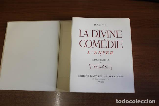 Libros de segunda mano: LA DIVINE COMÉDIE. ALIGHIERI, Dante. [Dalí ilustrador.] - Foto 3 - 112990611