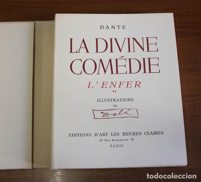 Libros de segunda mano: LA DIVINE COMÉDIE. ALIGHIERI, Dante. [Dalí ilustrador.] - Foto 8 - 112990611