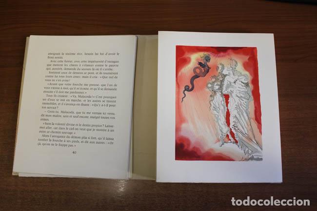 Libros de segunda mano: LA DIVINE COMÉDIE. ALIGHIERI, Dante. [Dalí ilustrador.] - Foto 9 - 112990611