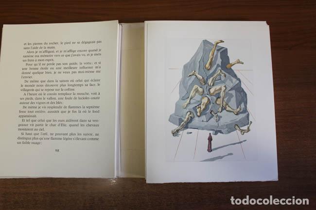 Libros de segunda mano: LA DIVINE COMÉDIE. ALIGHIERI, Dante. [Dalí ilustrador.] - Foto 10 - 112990611