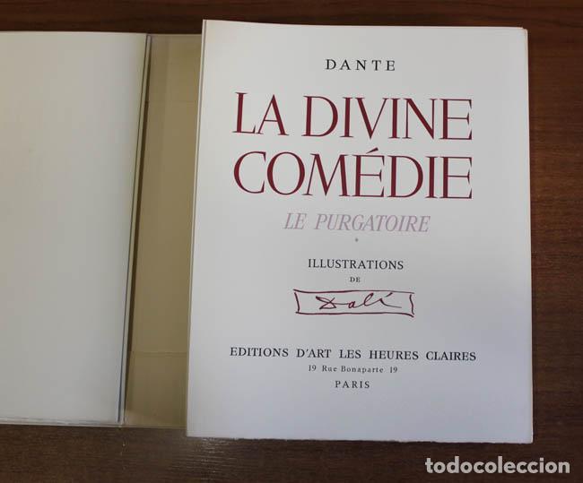 Libros de segunda mano: LA DIVINE COMÉDIE. ALIGHIERI, Dante. [Dalí ilustrador.] - Foto 12 - 112990611