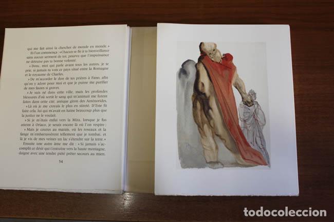 Libros de segunda mano: LA DIVINE COMÉDIE. ALIGHIERI, Dante. [Dalí ilustrador.] - Foto 14 - 112990611