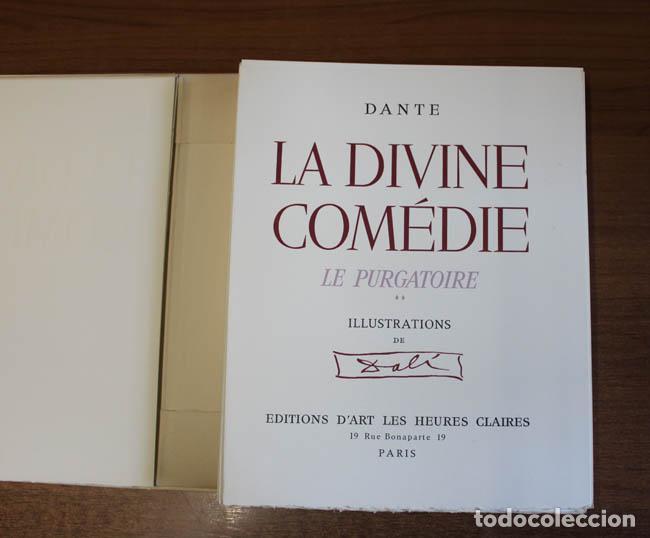 Libros de segunda mano: LA DIVINE COMÉDIE. ALIGHIERI, Dante. [Dalí ilustrador.] - Foto 16 - 112990611