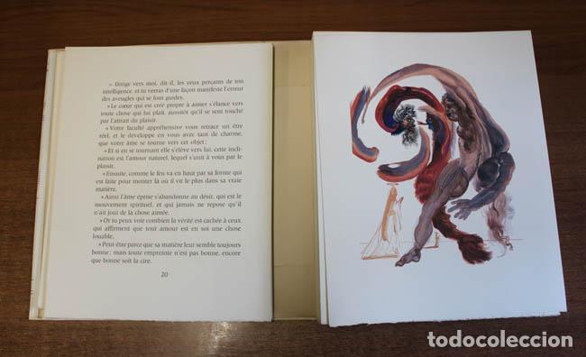 Libros de segunda mano: LA DIVINE COMÉDIE. ALIGHIERI, Dante. [Dalí ilustrador.] - Foto 17 - 112990611