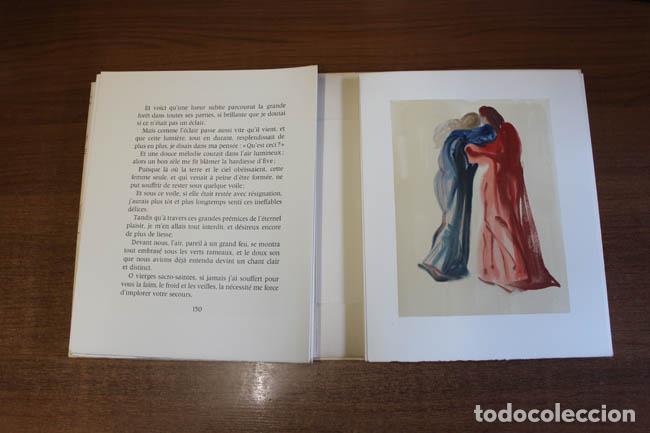 Libros de segunda mano: LA DIVINE COMÉDIE. ALIGHIERI, Dante. [Dalí ilustrador.] - Foto 19 - 112990611