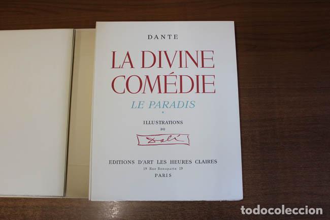 Libros de segunda mano: LA DIVINE COMÉDIE. ALIGHIERI, Dante. [Dalí ilustrador.] - Foto 21 - 112990611