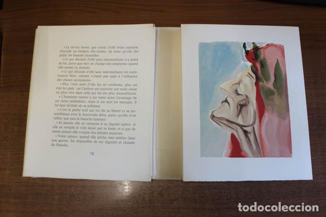 Libros de segunda mano: LA DIVINE COMÉDIE. ALIGHIERI, Dante. [Dalí ilustrador.] - Foto 23 - 112990611
