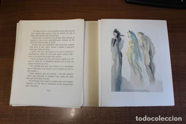 Libros de segunda mano: LA DIVINE COMÉDIE. ALIGHIERI, Dante. [Dalí ilustrador.] - Foto 24 - 112990611