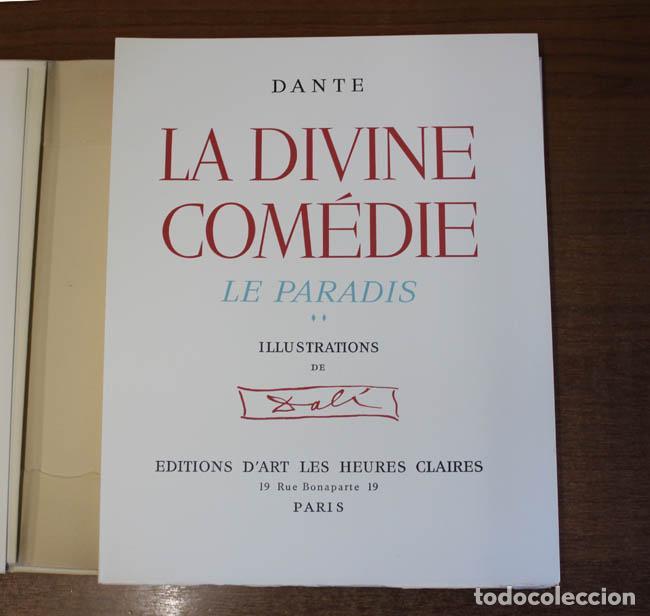 Libros de segunda mano: LA DIVINE COMÉDIE. ALIGHIERI, Dante. [Dalí ilustrador.] - Foto 26 - 112990611