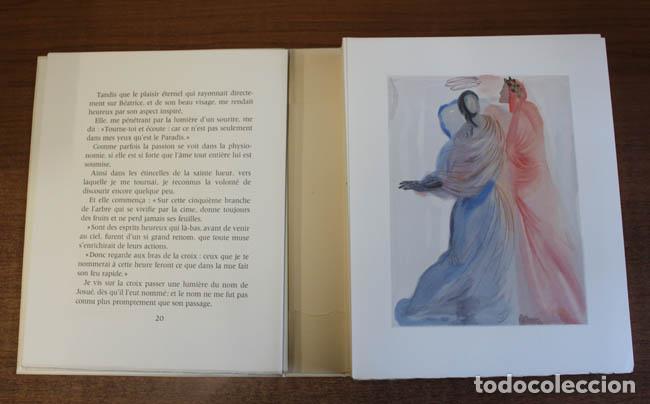 Libros de segunda mano: LA DIVINE COMÉDIE. ALIGHIERI, Dante. [Dalí ilustrador.] - Foto 27 - 112990611