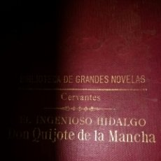 Libros de segunda mano: EL INGENIOSO HIDALGO DON QUIJOTE DE LA MANCHA. CERVANTES. BIBLIOTECA GRANDES NOVELAS. RAMÓN SOPENA E. Lote 113027258