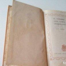 Libros de segunda mano - El Hombre que Sabia Demasiado G.K Chesterton 1948 - 113205947