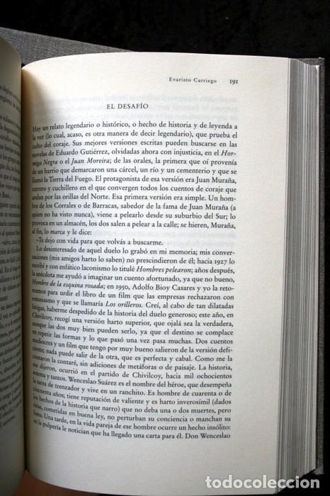 Libros de segunda mano: JORGE LUIS BORGES - OBRAS COMPLETAS - 3 TOMOS - CIRCULO DE LECTORES - Foto 2 - 171684349