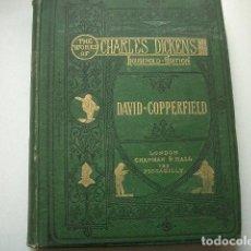 Libros de segunda mano: CON 68 GRABADOSTHE WORKS OF CHARLES DICKENS / HOUSHOLD EDITION / EINZELBAND:DAVID COPPERFIELD.. Lote 114526111