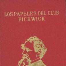 Libros de segunda mano: CHARLES DICKENS. LOS PAPELES DEL CLUB PICKWICK. 1969. Lote 114586703