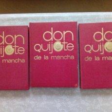 Libros de segunda mano: DON QUIJOTE DE LA MANCHA-EDITORIAL NARANCO - VOLUMENES 2-3-4. Lote 114773987