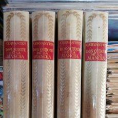 Libros de segunda mano: DON QUIJOTE DE LA MANCHA, CERVANTES, 4 TOMOS, ED. CASTILLA, 1966. Lote 114976332