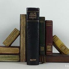 Libros de segunda mano: NOVELAS ESCOGIDAS. JULES VERNE. AGUILAR. 1968.. Lote 115169003