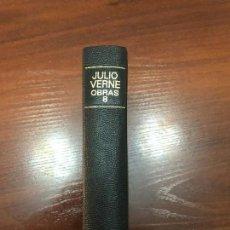 Libros de segunda mano: OBRAS ESCOGIDAS DE JULIO VERNE.TOMO VIII.ED.AGUILAR. Lote 115542139