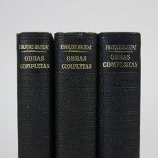 Libros de segunda mano: 3 TOMOS / LIBROS - LOS CLÁSSICOS DEL SIGLO XX / FRANÇOIS MAURIAC - EDITOR. PLAZA & JANÉS - AÑO 1970. Lote 115554439
