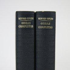 Libros de segunda mano: 2 TOMOS / LIBROS - LOS CLÁSSICOS DEL SIGLO XX / RUDYARD KIPLING - EDITOR. PLAZA & JANÉS - AÑO 1976. Lote 115554711
