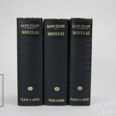 Libros de segunda mano: 3 TOMOS / LIBROS - LOS CLÁSSICOS DEL SIGLO XX / LAJOS ZILAHY - EDITOR. PLAZA & JANÉS - AÑO 1966. Lote 115556723