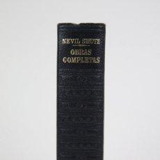 Libros de segunda mano: 1 TOMOS/LIBRO-LOS CLÁSSICOS DEL SIGLO XX / NEVIL SHUTE-EDIT. PLAZA & JANÉS-1ª EDI. 1963 - INCOMPLETO. Lote 115557599