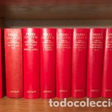 Libros de segunda mano: PEREZ GALDOS - OBRAS COMPLETAS AGUILAR. Lote 115602919