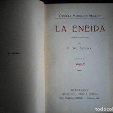 Libros de segunda mano: LA ENEIDA PUBLIO VIRGILIO MARON. Lote 115623451