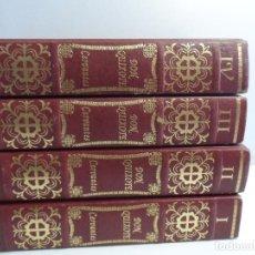 Libros de segunda mano: EL INGENIOSO HIDALGO DON QUIXOTE DE LA MANCHA EDICION FACSIMILAR 4 TOMOS . Lote 116210891