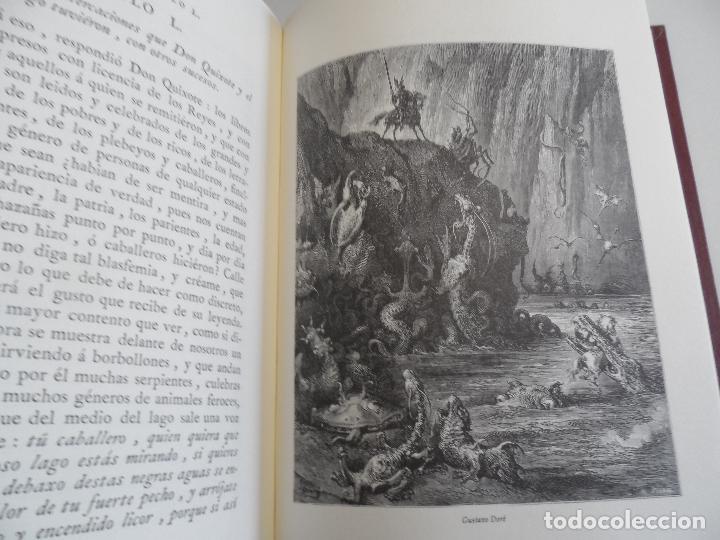 Libros de segunda mano: EL INGENIOSO HIDALGO DON QUIXOTE DE LA MANCHA EDICION FACSIMILAR 4 TOMOS - Foto 5 - 116210891