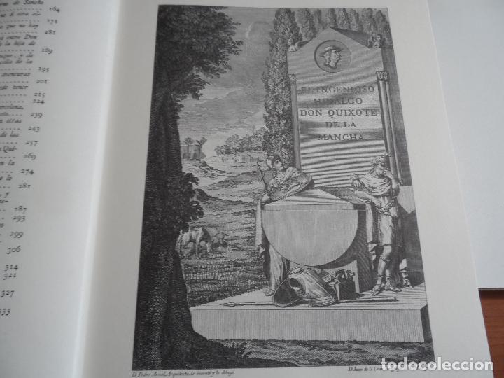 Libros de segunda mano: EL INGENIOSO HIDALGO DON QUIXOTE DE LA MANCHA EDICION FACSIMILAR 4 TOMOS - Foto 13 - 116210891
