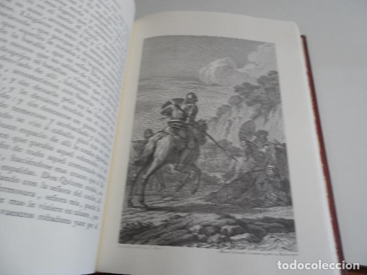 Libros de segunda mano: EL INGENIOSO HIDALGO DON QUIXOTE DE LA MANCHA EDICION FACSIMILAR 4 TOMOS - Foto 15 - 116210891