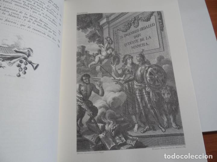 Libros de segunda mano: EL INGENIOSO HIDALGO DON QUIXOTE DE LA MANCHA EDICION FACSIMILAR 4 TOMOS - Foto 16 - 116210891