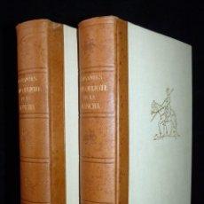 Libros de segunda mano: MIGUEL DE CERVANTES. EL INGENIOSO HIDALGO DON QUIJOTE DE LA MANCHA. 2 TOMOS. ED. LABOR 1962. Lote 116226763