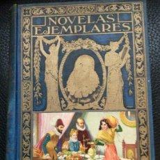 Libros de segunda mano: NOVELAS EJEMPLARES, M. DE CERVANTES SAAVEDRA. ED. SOPENA. 1941. BIBLIOTECA HISPANIA. EDICION ILUS. Lote 116242851