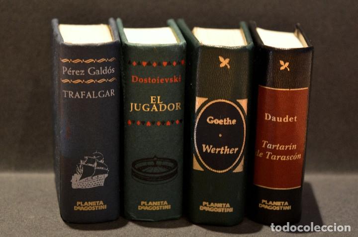 LOTE 4 LIBRO GRANDES OBRAS DE LA LITERATURA EN MINIATURA PLANETA DE AGOSTINI (Libros de Segunda Mano (posteriores a 1936) - Literatura - Narrativa - Clásicos)